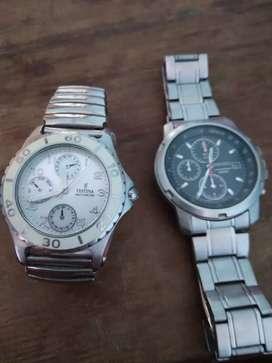Vendo relojes Festina y Seiko original