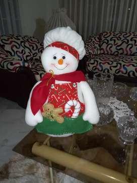 Hermosos muñecos de navidad