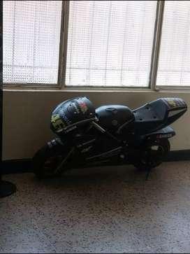 Vendo moto ninja para niño o adulto peso maximo 110 kilos