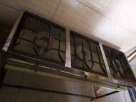 Vendo estufa industrial de 3 fogones