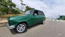 Renault 6 1978 con gas