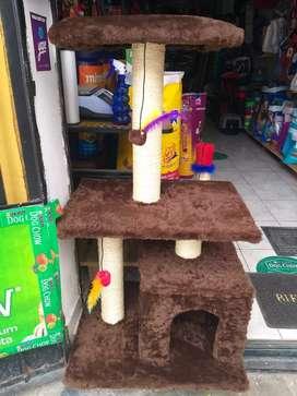 Casa gimnacion para gatos