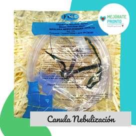 Canula Nebulización Basica
