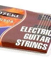 6 Cuerdas Encordado Guitarra Eléctrica Metálicas Alice Ozeki 0