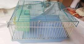 Vendo jaula de hamster en buen estado