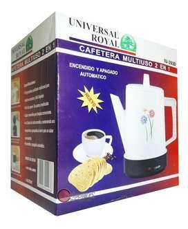 CAFETERA UNIVERSAL ROYAL 2 EN 1 1LITRO