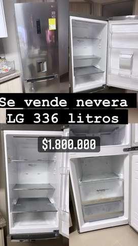 Nevera LG 336 litros