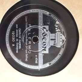 Carlos Gardel discos 78 rpm