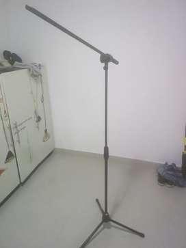 Bases para camara y microfono