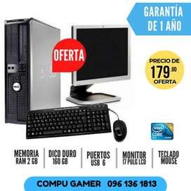 Computadora completa $179 con GARANTIA perfecta para tu hogar !