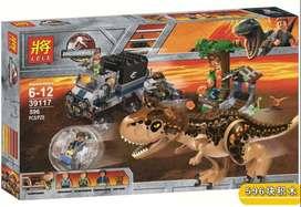 Lego alterno jurassic world park dinosaurio carnotaurus