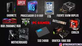 PC gamer RGB gama alta Vendo o permuto