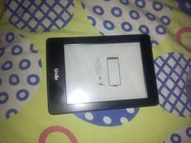 Kindle color negro