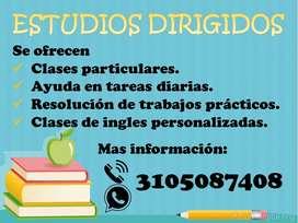 CLASES PARTICULARES/ ESTUDIOS DIRIGIDOS