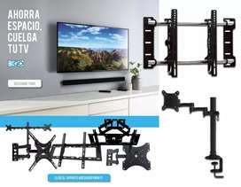 instalación de soportes para televisores a domicilio