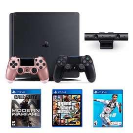 Playstation 4 Slim de 1T USADO edicion fifa 19
