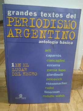 Grandes textos del periodismo argentino