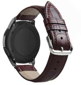 Correa Pulsera Banda Cuero Samsung Galaxy Watch 42mm 46mm