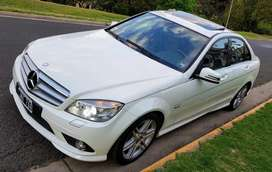 MERCEDES BENZ C250 SPORT AMG 2011 AUTOMATICO 80000KM REALES