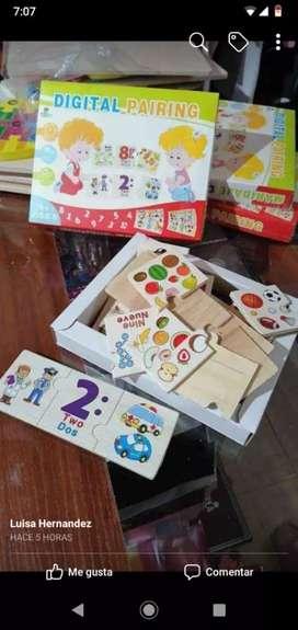 Vendo juguetes didacticos para los pequeños de la casa