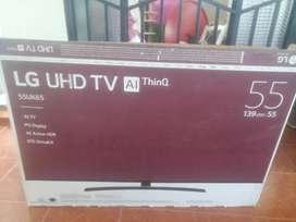 TV LG UHD 55 PULGADAS SMART 4K