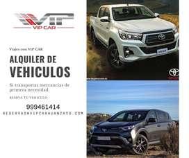 ALQUILER DE CAMIONETA EN HUANCAYO-CAMIONETAS CERRADAS SUV, AUTOS Y VAN H1 JAUJA-HUANCAYO