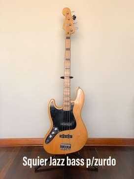Bajo Fender Squier Clasic Vibe 70s p/zurdos