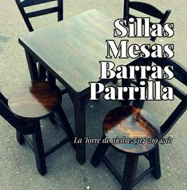 Juego de Mesa con Sillas para Bar Rest