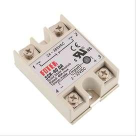 Rele Estado Solido Fotek 40A / 25A Input 3-32vdc Output 220vac