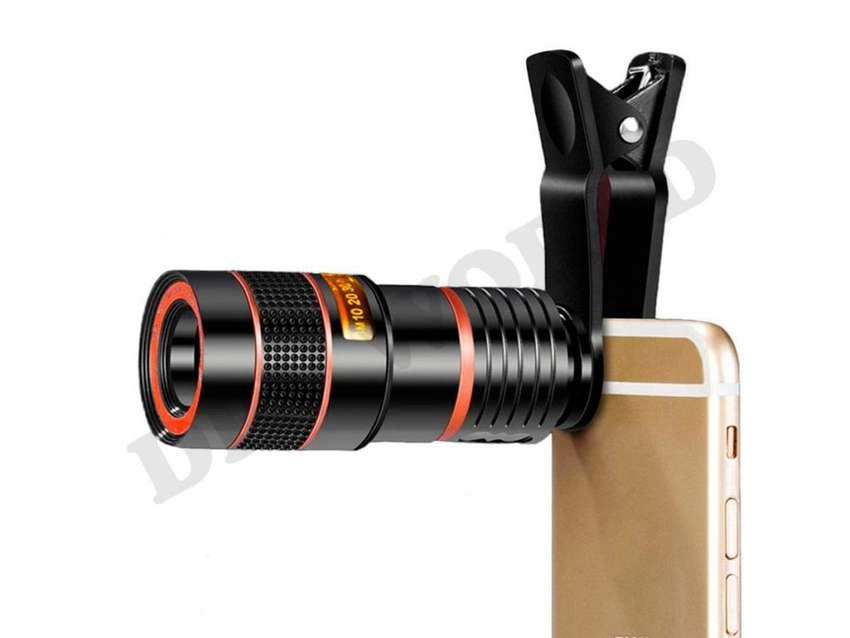 Clip Zoom Telescopio Para Celular 0