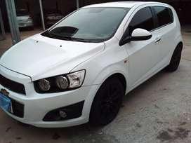 Chevrolet Sonic ltz 5 p