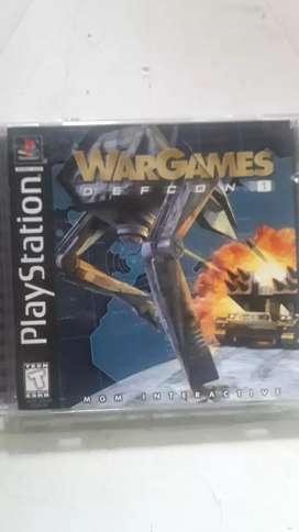 JUEGO DE PLAY 1 WARGAMES DEFCON 1 (original)