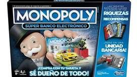 MONOPOLY SUPER BANCO ELECTRONICO NUEVO - JUEGO DE MESA