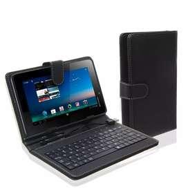 """Estuche teclado usb para tablet 7"""""""