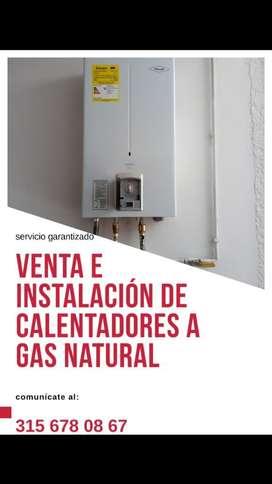 Venta E Instalación de Calentadores