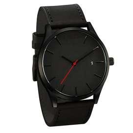 Reloj De Pulsera Cuarzo, Elegante, De Lujo Para Hombre