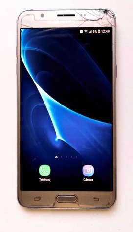 Samsung J7 dorado liberado