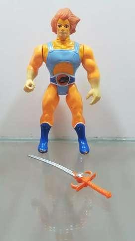 Figura LION-O 1985 v. Naranja - Thundercats - Gi Joe - he man - heman