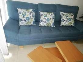 Venta sofá con mesa central