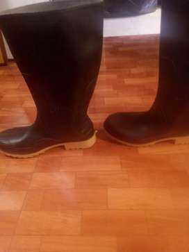 Ganga botas de caucho nuevas #44