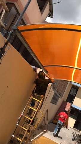 HS soluciones realizamos el mejor servicio de construcción e instalación de PUERTAS, VENTANAS y CUBRE, MAMPARAS etc.