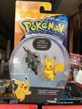 Tritox vs pikachu . Pokemon tomy
