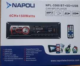 Estéreo Napoli USB Tarjeta Bluetooth FM