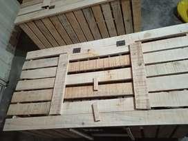 Jaulas de madera, para crianza de cuyes