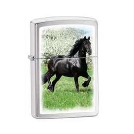 Encendedor Zippo Black Horse. Original. Entrega Inmediata. Por Banimported