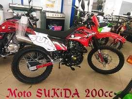 MOTO SUKIDA SKS200  OFERTA  CHIMASA S.A.