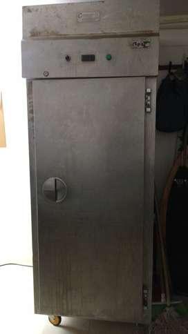 Remato congelador industrial en acero inoxidable