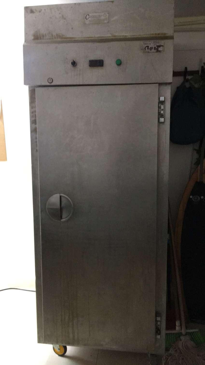 Remato congelador industrial en acero inoxidable 0