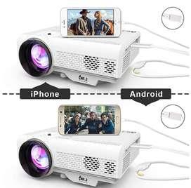 Video beam portatil