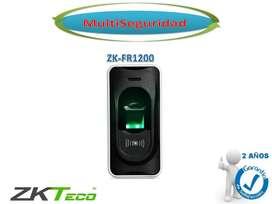 LECTOR DE HUELLA DIGITAL Y PROXIMIDAD ZKFR1200 INC IVA